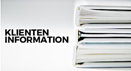 Klienteninformation 03/2019